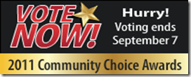 Vote For DotNetNuke in 2011 DevProConnections Community Choice Awards
