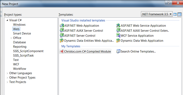 Creating a DotNetNuke Module Project in Visual Studio