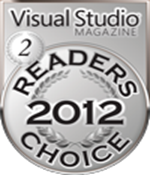 Visual Studio Magazine Readers Choice Awards 2012