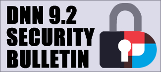 DNN 9-2 Security Bulletin Released blog summary image
