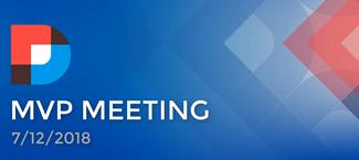 DNN MVP Meeting July 2018 Summary Image