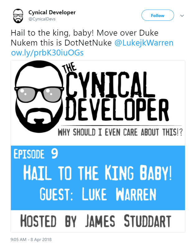 Check out Cynical Dev's podcast featuring DNN