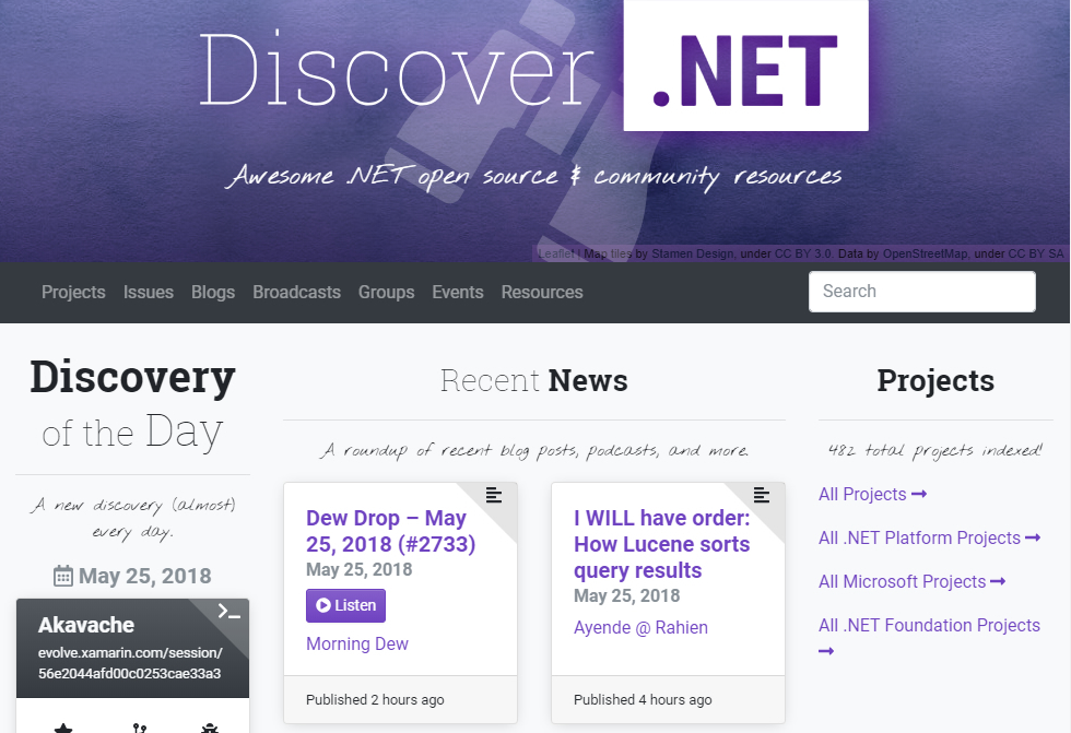 Discover.NET screenshot