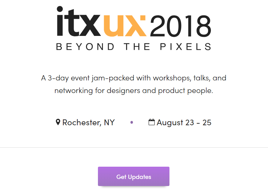ITX's Beyond the Pixels Conference