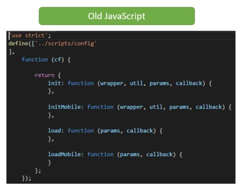 Old JavaScript File