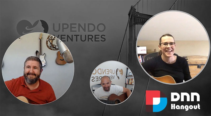 Upendo Ventures presents: A DNN Hangout interview with Cassidi Peterson of 10 Pound Gorilla