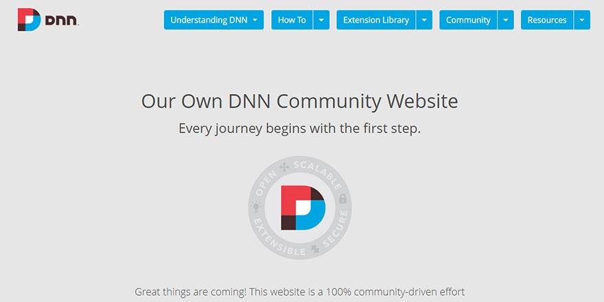 The DNN Community .org Website
