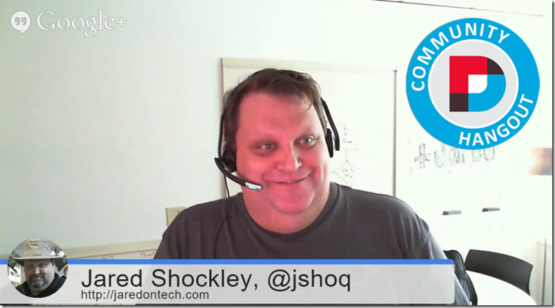DNN Hangout March 2015: Jared Shockley
