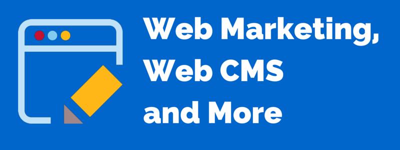 an interview on web marketing and web cms