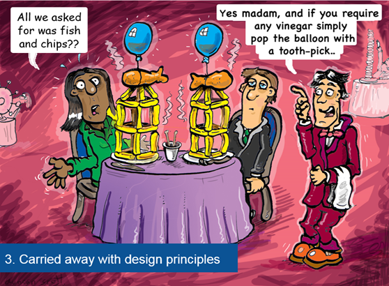 carried away by design principles