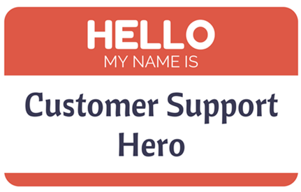 customer support hero