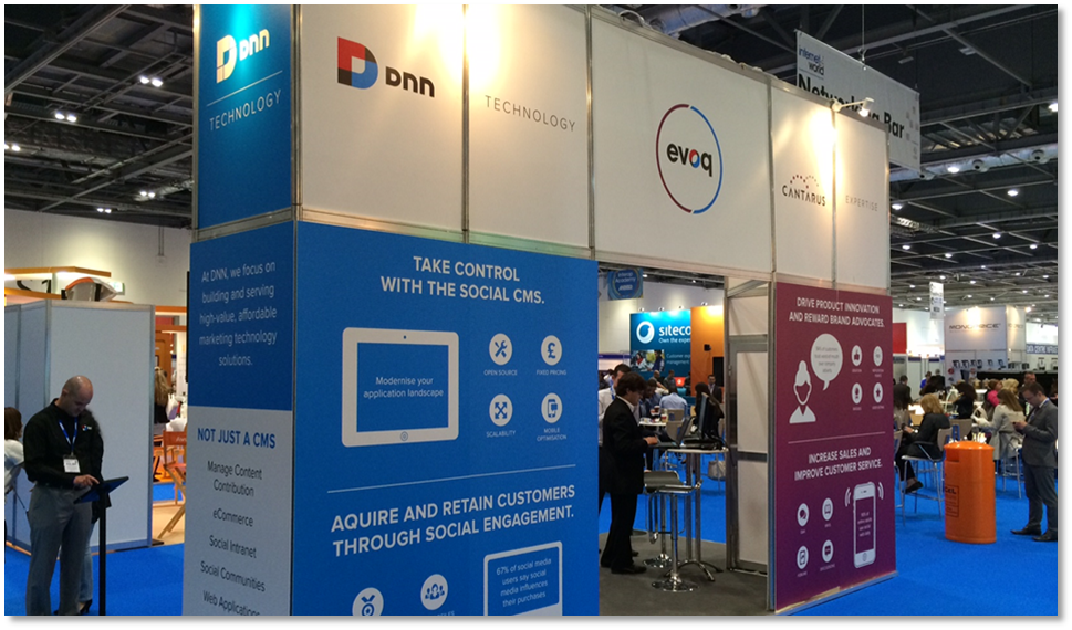 DNN and Cantarus at Internet World 2014