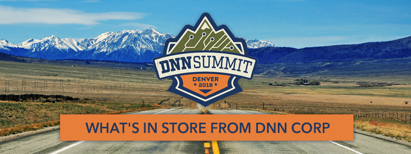 What's in store with DNN Corp. at DNN Summit