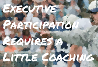 Executive Participation in Online Communities: Drive Success with Basic Coaching INFOGRAPHIC