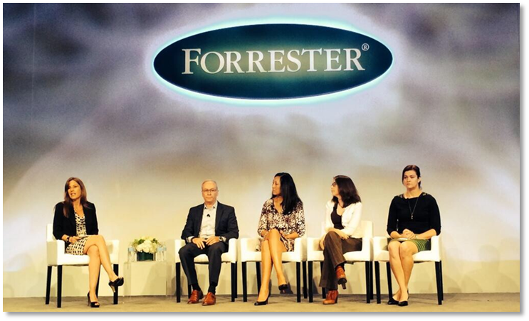 main stage at Forrester Forum
