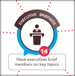 online communities for executive briefings
