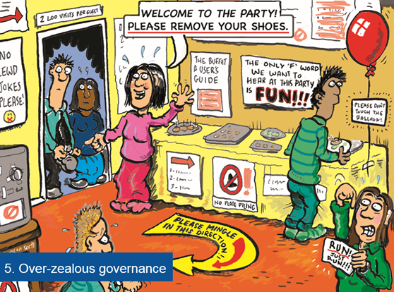 overzealous intranet governance