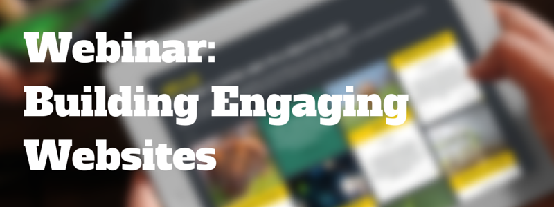 webinar on building engaging websites