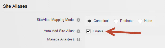 DNN Change Auto-Add site aliases for Azure Websites Import