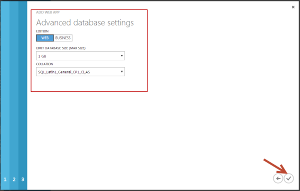 DNN Advanced Database Settings