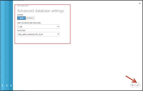 DNN Advanced Database Settings
