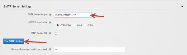 DNN SMTP Server Settings Windows Azure Websites