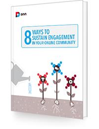 8 ways to sustain online community engagement ebook