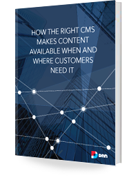 future-friendly CMS white paper cover