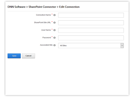 edit sharepoint connector