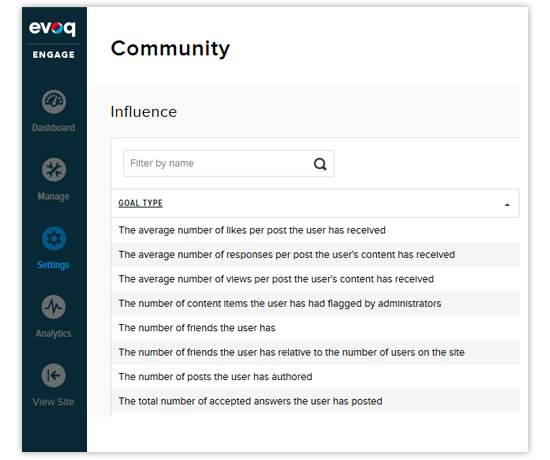 Mobile-responsive community management in Evoq