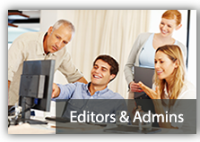 Training for Content Editors and Site Administrators