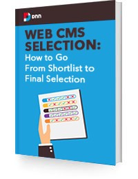 white paper - web cms - how to go from shortlist to final selection
