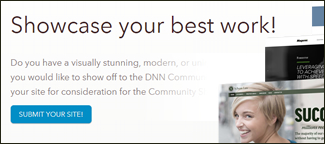 DNN Community Showcase Websites Summary image