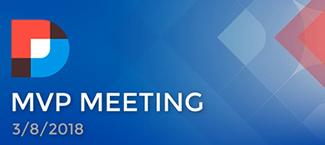 DNN MVP Meeting March 2018 Summary Image