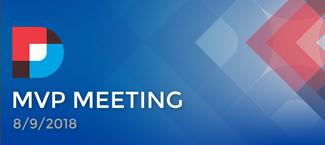 DNN MVP Meeting August 2018 Summary Image