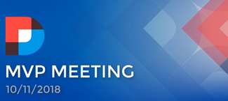 DNN MVP Meeting September 2018 Summary Image