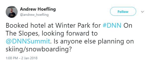 Andrew Hoefling's Featured Tweet