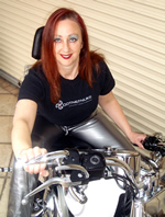 Lorraine Young - Win a Harley Davidson at DotNetNuke OpenForce 07!