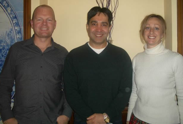 Philip Beadle, Salar Golestanian and Lorraine Young
