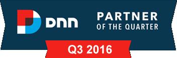 DNN Partner of the Quarter, Q3 2016