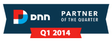 DNN Partner of the Quarter - Q1, 2014