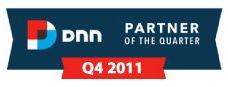 DNN Partner of the Quarter Q4, 2011