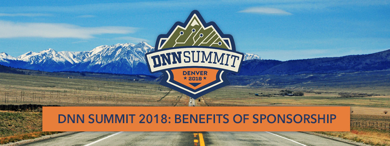 reasons to sponsor DNN Summit
