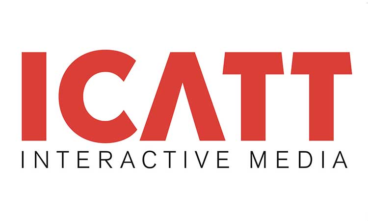 ICATT interactive media     partner logo