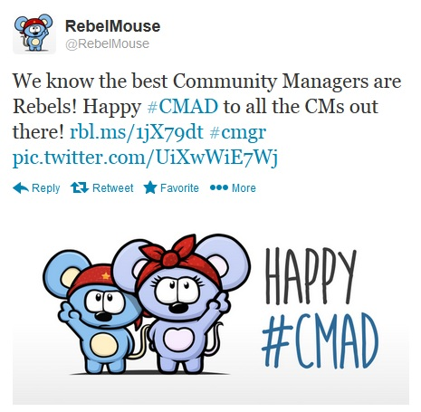 CMAD shout out RebelMouse