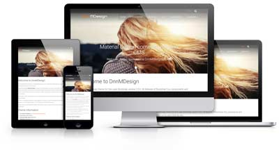 DnnC MDesign theme for Dnn