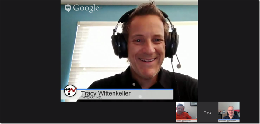 Tracy Wittenkeller of T-Worx in the DNN Community Hangout