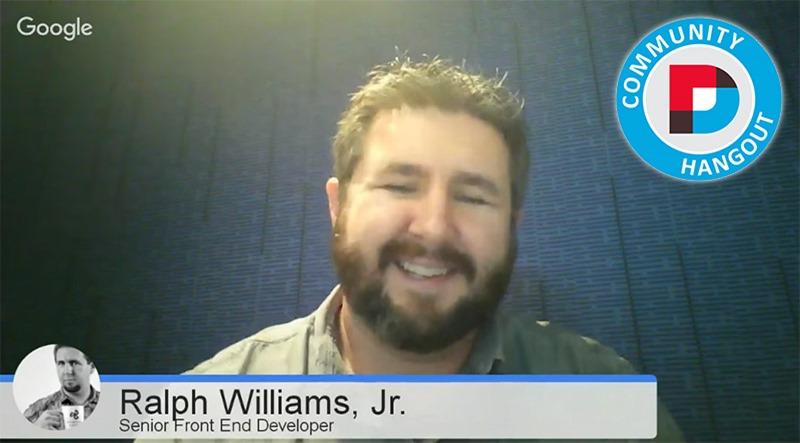 DNN Hangout December 2015 with Ralph Williams