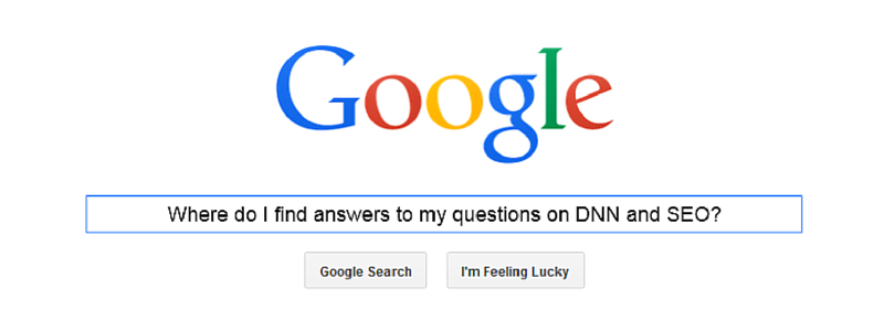 answers to questions on DNN and SEO