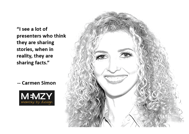 Carmen Simon, Founder of Memzy
